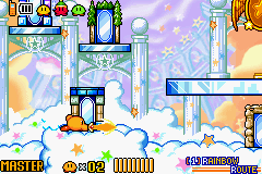 Kirby & the Amazing Mirror - downer attack - User Screenshot
